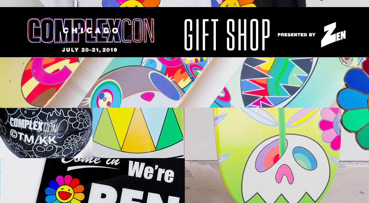 ComplexCon Chicago Merch dropping in the Gift Shop Presented by Zen