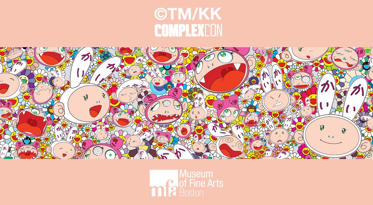 """Takashi Murakami: Lineage of Eccentrics"" Exhibition at the MFA Boston and our exclusive collaboration drops!"