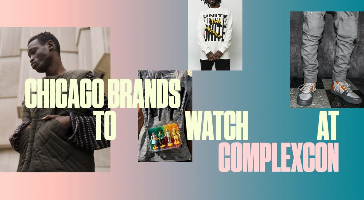 Chi-town's emerging designers to watch out for at ComplexCon Chicago!