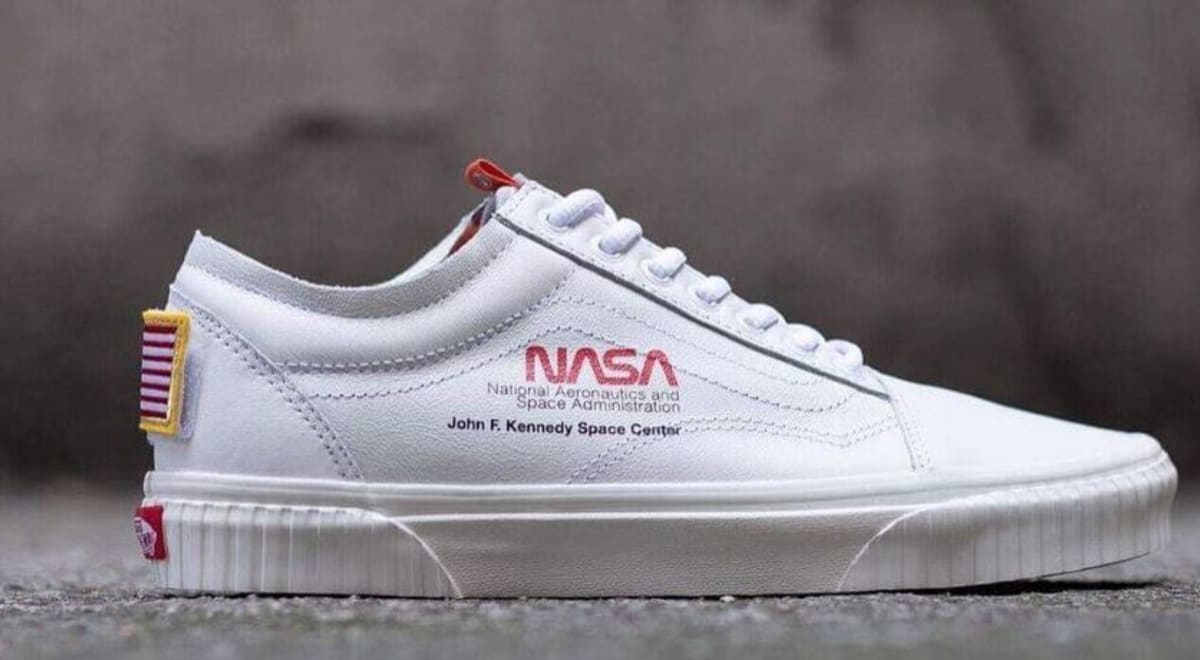 """Vans commemorates NASA on their 60th anniversary with the Vans Old Skool """"Space Voyager"""" dropping at ComplexCon!"""