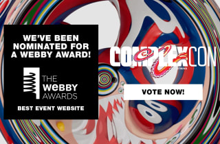 ComplexCon's been nominated for the Webby Awards!