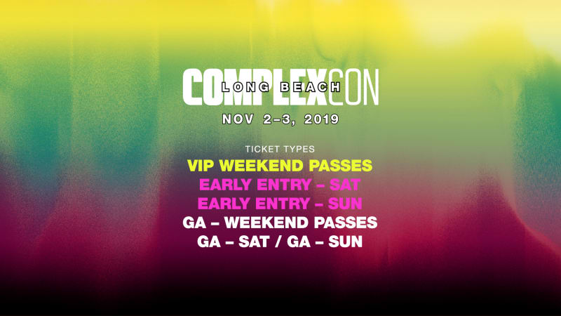 ComplexCon Tickets On sale NOW!