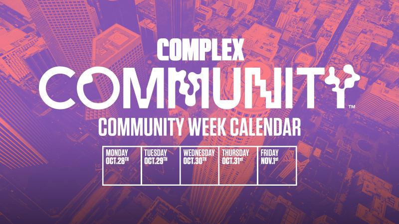 Community Week Calendar, Long Beach