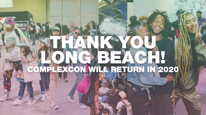 THANK YOU TO EVERYONE WHO CAME OUT TO LONG BEACH - SEE YOU IN 2020!