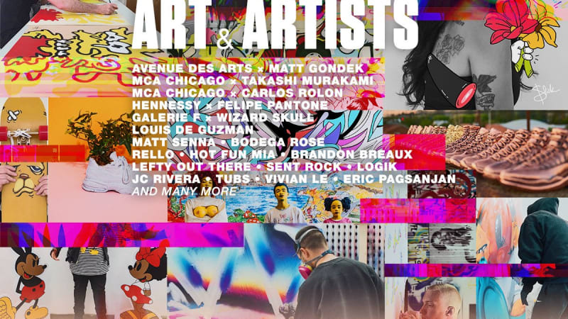 COMPLEXCON CHICAGO ART & ARTISTS LINEUP IS UP!