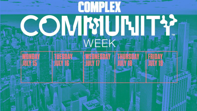 Community Week Calendar