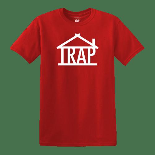Trap House Logo T-Shirt [Red]