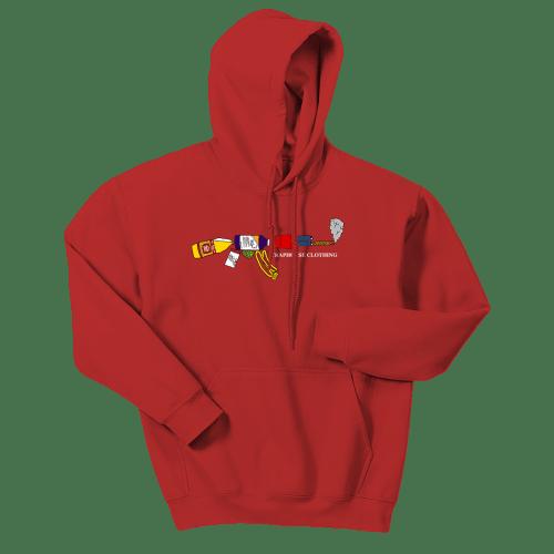 Dirty K Hoodie [Red]