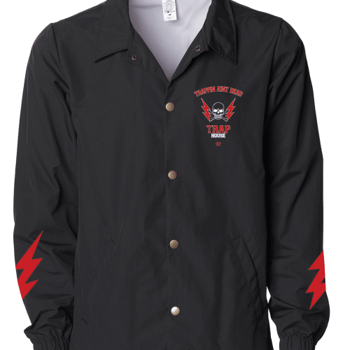 TRAPPIN AINT DEAD COACHES JACKET