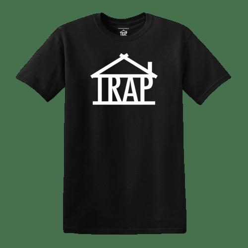 Trap House Logo T-Shirt [Black]