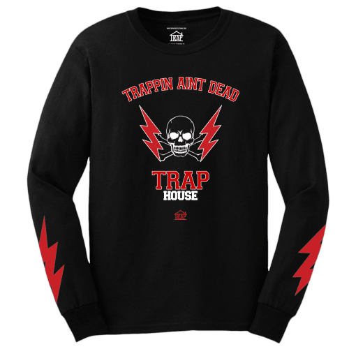 Trapping Ain't Dead Long Sleeve Tee [Black]