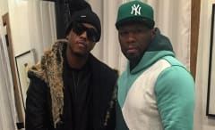 50 Cent and Jeremih Backstage via IG