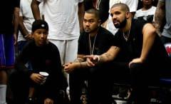 Drake Wearing the Oreogn Air Jordan 14