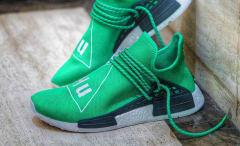 Pharrell x adidas NMD Green Human Race