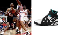 David Robinson in the Nike Air Unlimited