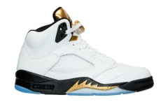 Air Jordan 5 Gold Coin Olympic Release Date 136027-133