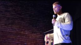 Blake Griffin performs stand-up comedy in Montreal.
