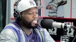This is 50 Cent on 92.3 discussing his beef with the Game.