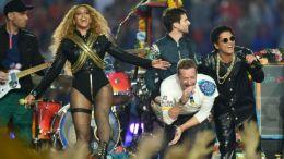 Beyonce Coldplay Super Bowl