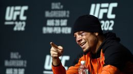 Nate Diaz answers questions at UFC 202 post-match media conference