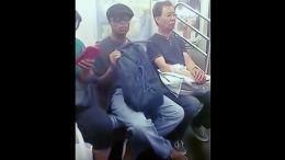 Subway masturbator gets shamed.