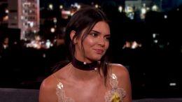 Kendall Jenner on 'Kimmel'