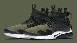 "Acronym x Nike Air Presto ""Olive"""