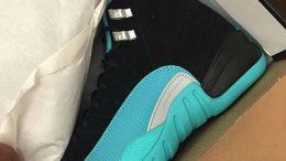 "Air Jordan 12 GG ""Hyper Jade"" Release Date 510815-017"