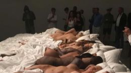 "Kanye ""Famous"" art exhibit"