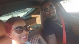 J.R. Smith poses with his new wife Jewel Harris on Instagram.