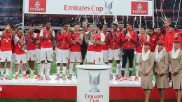 Arsenal wins the emirates cup