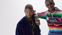 "Usher and Young Thug's video for ""No Limit"""