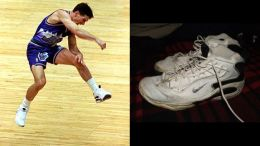 John Stockton in the Nike Air Zoom Challenege