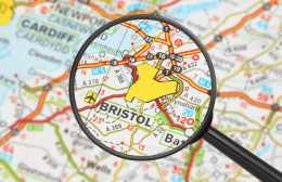 Bristol-Map