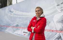 Maria Sharapova Nike Tennis Court