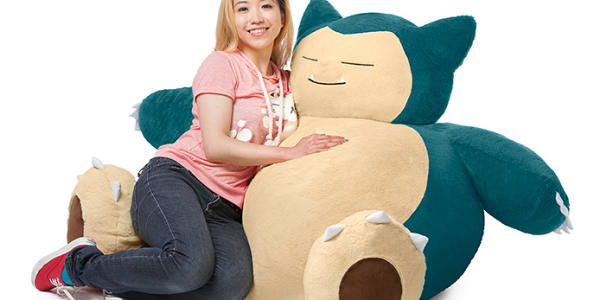 You Can Now Buy A Life Sized Snorlax Bean Bag Chair Complex