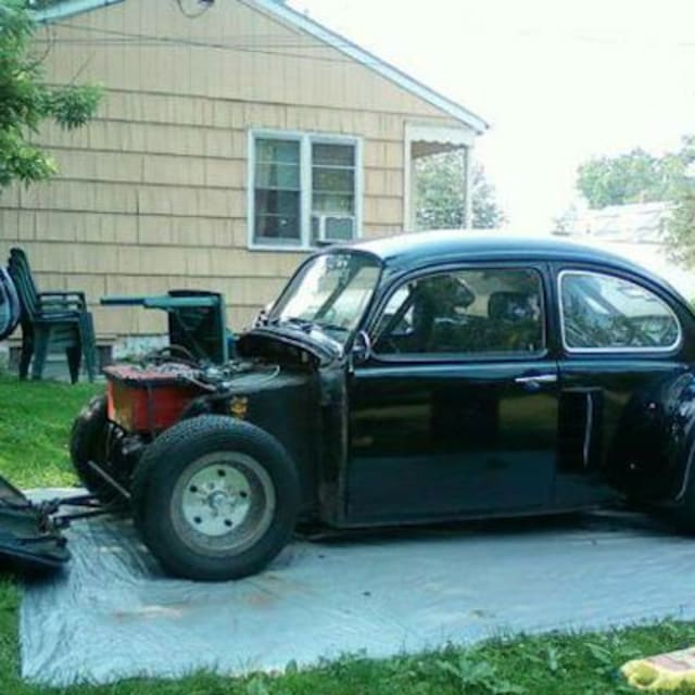 Vw Bug Engines For Sale Used: A 1971 VW Beetle With A Corvette Engine Is For Sale On