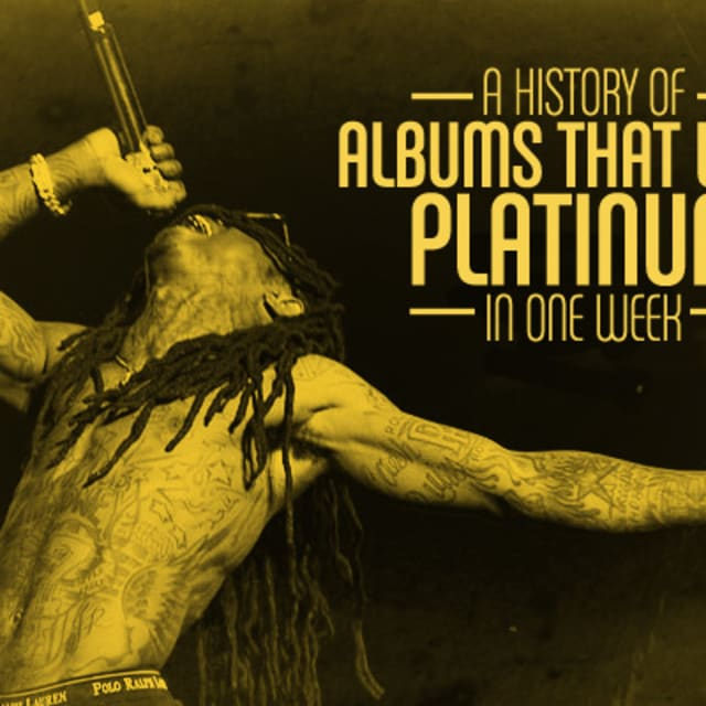 History Platinum: A History Of Albums That Went Platinum In One Week