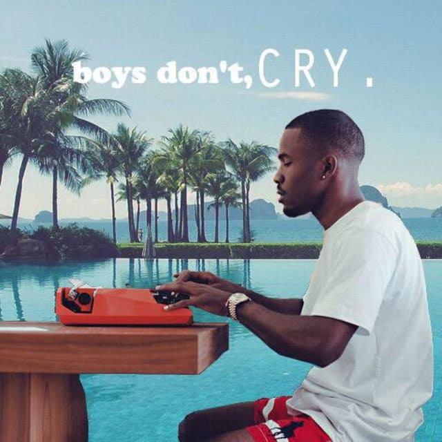 this frank ocean album cover going around twitter is not