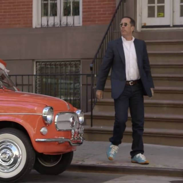 sneaker moments from seinfeld 39 s comedians in cars getting coffee complex. Black Bedroom Furniture Sets. Home Design Ideas