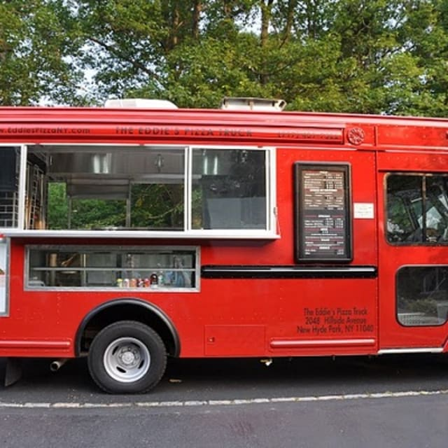 Big Red Food Truck Nyc