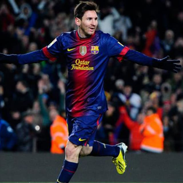 Best Sports Photos Of 2012: Lionel Messi Named The Third-Best Argentine Athlete Of
