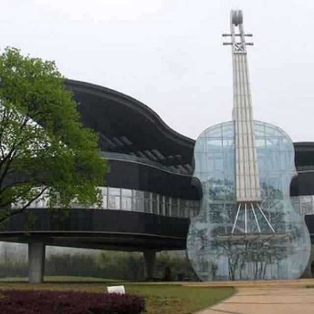 This Building Is Craze Chinese Piano House Complex