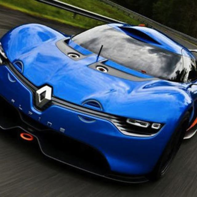 Sports Cars 2015 Renault Alpine A110 50 Supercar: The Renault Alpine A110-50 Concept