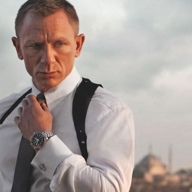 Skyfall is now the uk 39 s biggest film of 2012 complex for Celebrity watches male