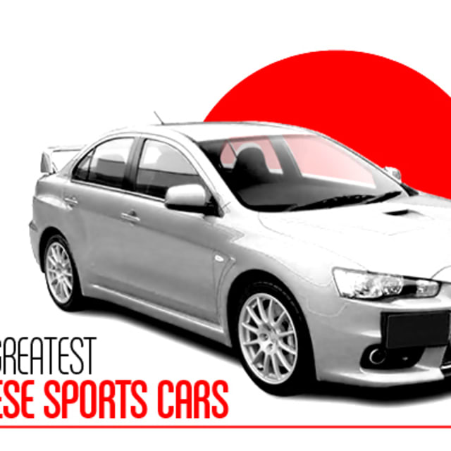 The 50 Greatest Japanese Sports Cars