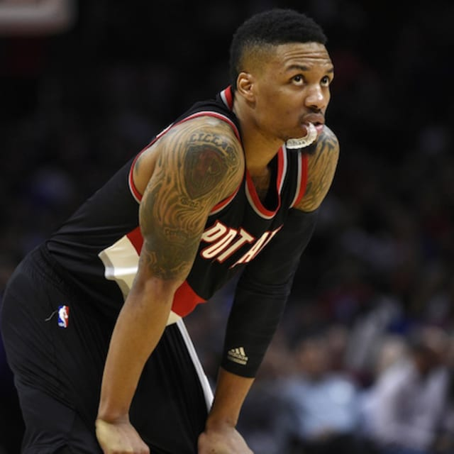 Damian Lillard: Damian Lillard Allows Mother's Son Into His Basketball