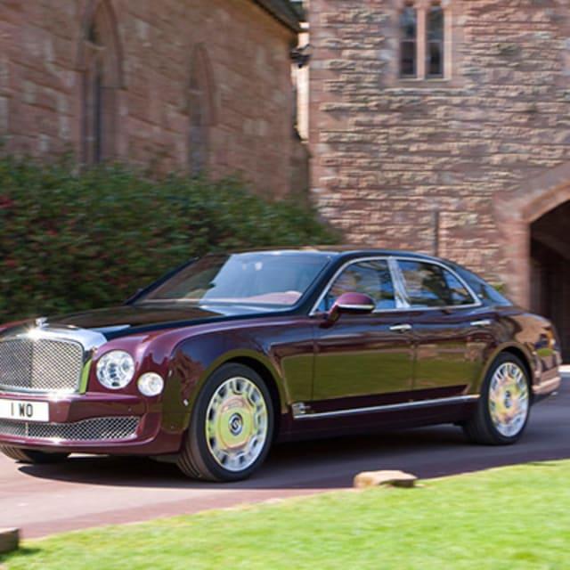Bentley State Limousine: The 2012 Bentley Mulsanne Diamond Jubilee Edition