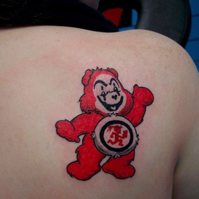 Look At This! Care Bear Juggalo Tattoo