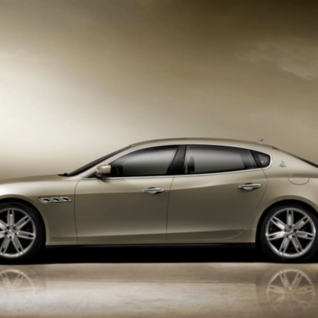 2012 Maserati Quattroporte Interior: Maserati Unveils New Quattroporte
